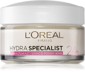 L'Oréal Paris Hydra Specialist crema de día hidratante  para pieles sensibles y secas
