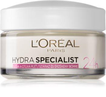L'Oréal Paris Hydra Specialist Feuchtigkeitsspendende Tagescreme für empfindliche trockene Haut