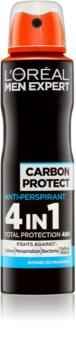 L'Oréal Paris Men Expert Carbon Protect antitraspirante spray