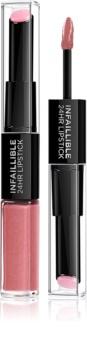 L'Oréal Paris Infallible ruj rezistent si luciu de buze. 2 in 1