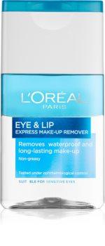 L'Oréal Paris Skin Perfection démaquillant bi-phasé contour des yeux et lèvres