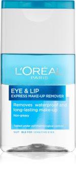 L'Oréal Paris Skin Perfection dvofazno sredstvo za skidanje šminke za područje oko očiju i usana