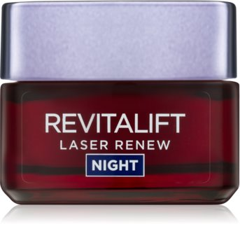 L'Oréal Paris Revitalift Laser Renew crema de noapte împotriva îmbătrânirii pielii