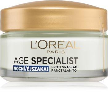 L'Oréal Paris Age Specialist 45+ krem na noc przeciw zmarszczkom