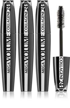 L'Oréal Paris Mega Volume Collagene 24h тушь для ресниц для придания объема (выгодная упаковка)