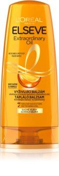 L'Oréal Paris Elseve Extraordinary Oil balsam pentru par uscat