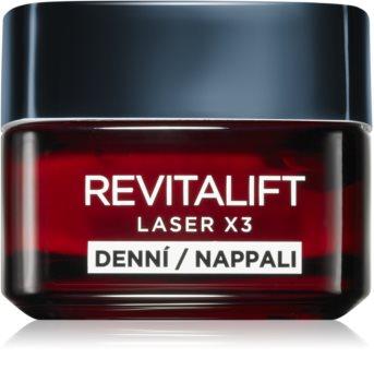 L'Oréal Paris Revitalift Laser X3 crème de jour fortement nourrissante pour le visage