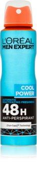 L'Oréal Paris Men Expert Cool Power antiperspirant ve spreji