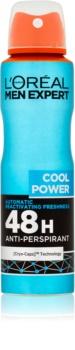 L'Oréal Paris Men Expert Cool Power antitraspirante spray
