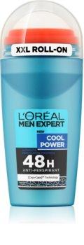 L'Oréal Paris Men Expert Cool Power αντιιδρωτικό ρολλ-ον