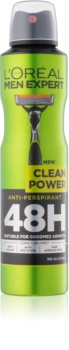 L'Oréal Paris Men Expert Clean Power antitraspirante spray