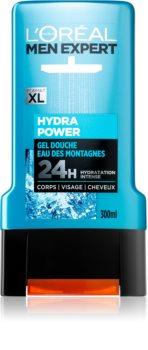 L'Oréal Paris Men Expert Hydra Power gel za prhanje za obraz, telo in lase