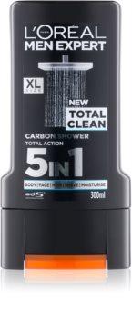 L'Oréal Paris Men Expert Total Clean sprchový gél 5 v 1