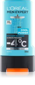 L'Oréal Paris Men Expert Cool Power τζελ για ντους