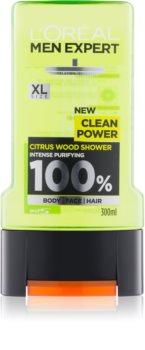 L'Oréal Paris Men Expert Clean Power gel za tuširanje
