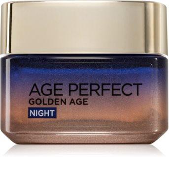 L'Oréal Paris Age Perfect Golden Age нощен крем против бръчки  за зряла кожа