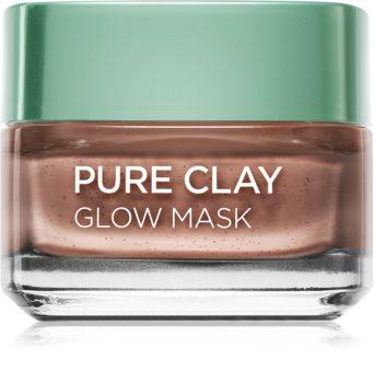 L'Oréal Paris Pure Clay mascarilla exfoliante