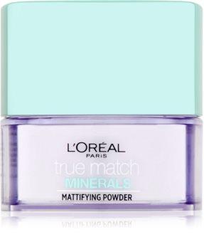 L'Oréal Paris True Match Minerals puder transparentny z matowym wykończeniem