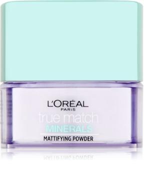 L'Oréal Paris True Match Minerals transparentní pudr s matným efektem