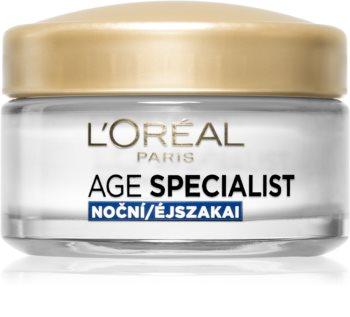L'Oréal Paris Age Specialist 65+ odżywczy krem na noc przeciw zmarszczkom