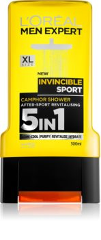 L'Oréal Paris Men Expert Invincible Sport gel doccia 3 in 1