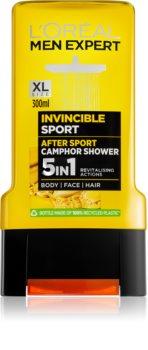 L'Oréal Paris Men Expert Invincible Sport gel za prhanje 3v1