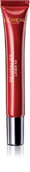 L'Oréal Paris Revitalift Laser X3 pielęgnacja przeciwzmarszczkowa przeciw obrzękom i cieniom