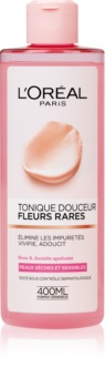 L'Oréal Paris Precious Flowers lotion visage pour peaux sèches à sensibles