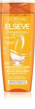 L'Oréal Paris Elseve Extraordinary Oil Coconut Shampoo mit ernährender Wirkung Für normales bis trockenes Haar