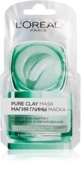 L'Oréal Paris Pure Clay maseczka oczyszczająca matująca