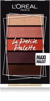 L'Oréal Paris La Petite Palette paleta de sombra para os olhos