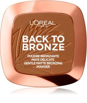 L'Oréal Paris Wake Up & Glow Back to Bronze bronzosító