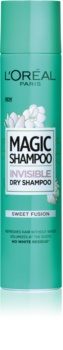 L'Oréal Paris Magic Shampoo Sweet Fusion szárazsampon, ami nem hagy fehér nyomokat