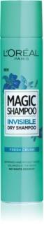 L'Oréal Paris Magic Shampoo Fresh Crush szárazsampon, ami nem hagy fehér nyomokat