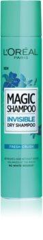 L'Oréal Paris Magic Shampoo Fresh Crush сухой шампунь для придания объема волосам, не оставляющий белых пятен