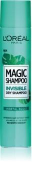 L'Oréal Paris Magic Shampoo Vegetal Boost droogshampoo voor haarvolume die geen witte sporen achterlaat
