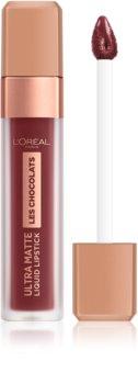 L'Oréal Paris Infallible Les Chocolats batom líquido ultra-mate