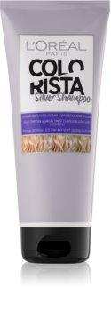L'Oréal Paris Colorista Silver Brassy Tones Neutralizing Shampoo