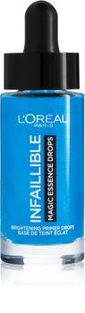 L'Oréal Paris Infallible Magic Essence Drops rozjasňující podkladová báze