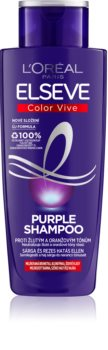 L'Oréal Paris Elseve Color-Vive Purple Brassy Tones Neutralizing Shampoo