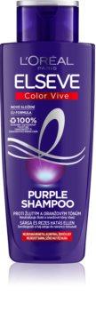 L'Oréal Paris Elseve Color-Vive Purple sampon a sárga tónusok neutralizálására