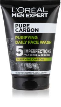 L'Oréal Paris Men Expert Pure Carbon gel de curățare cu carbune activ