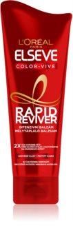 L'Oréal Paris Elseve Color-Vive Rapid Reviver balzsam festett hajra