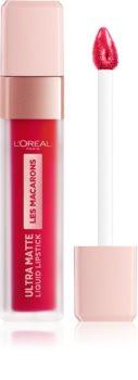 L'Oréal Paris Infallible Les Macarons дълготрайно матово течно червило