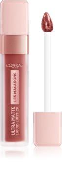 L'Oréal Paris Infallible Les Macarons tartós matt folyékony rúzs