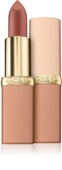 L'Oréal Paris Color Riche Matte Free The Nudes матиращо хидратиращо червило