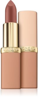 L'Oréal Paris Color Riche Matte Free The Nudes ruj buze mat hidratant