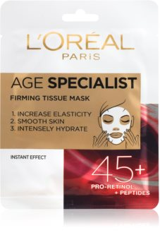 L'Oréal Paris Age Specialist 45+ Immediate Firming and Smoothing Textile Mask