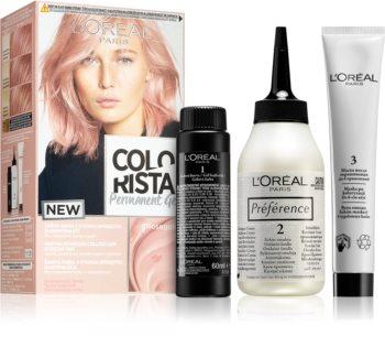 L'Oréal Paris Colorista Permanent Gel permanentní barva na vlasy