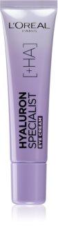 L'Oréal Paris Hyaluron Specialist creme de olhos